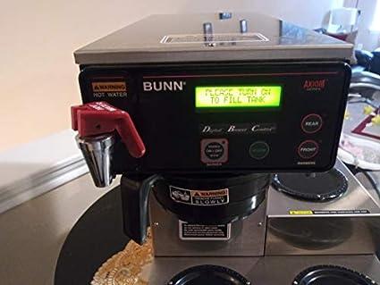 Amazon.com: BUNN 38700.0002 AXIOM-15-3 - Cafetera automática ...
