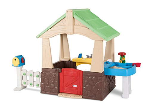 Little Tikes Deluxe Garden Playhouse product image