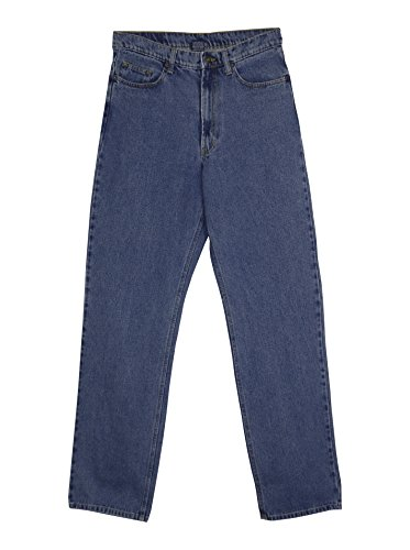 FULL BLUE 5 POCKET RELAX FIT JEANS BIG AND TALL (64x28, Light - Blue 64
