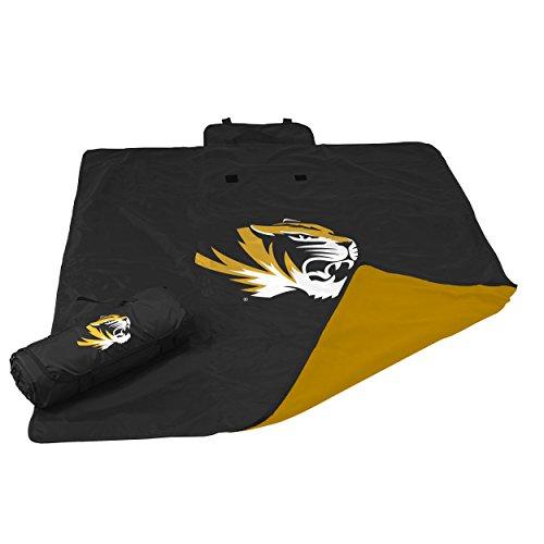 Logo Brands NCAA Missouri Tigers Adult All Weather Blanket, ()