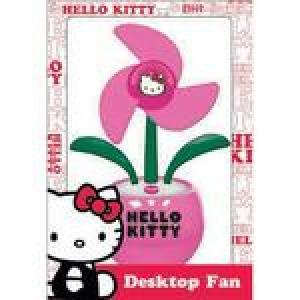 Hello Kitty Desktop - Vivitar Hello Kitty USB Desktop Fan