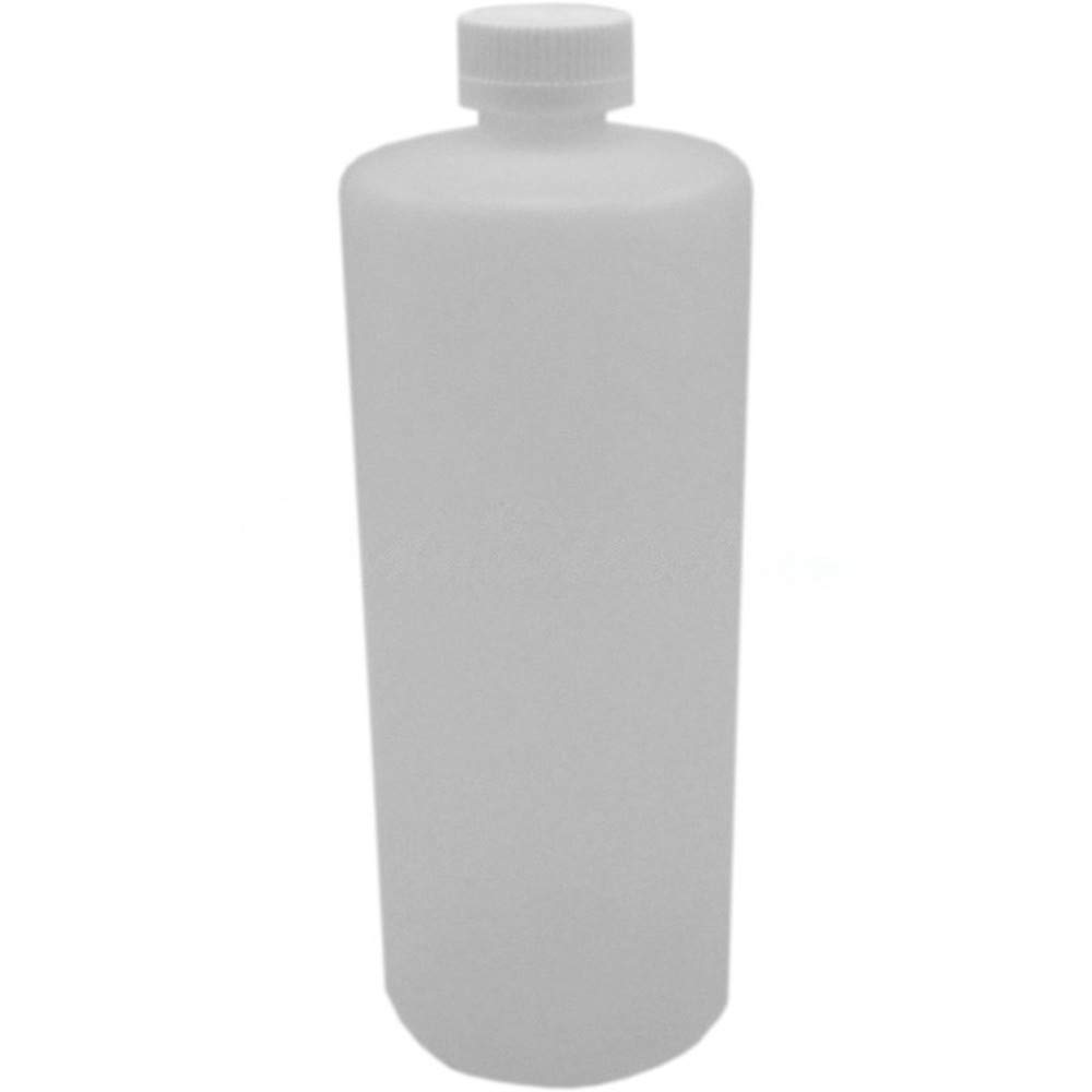 1 Liter HDPE Bottle with 28mm Child Safety F217 Lined Cap Food Grade Natural Color Clear Transluscent Plastic