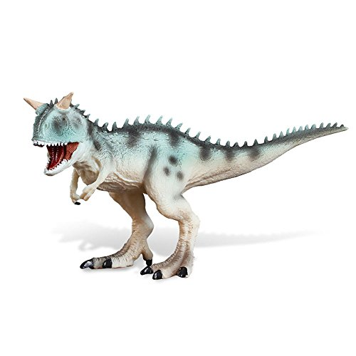 Cyan Part - A-Parts Carnotaurus Cyan Toy Figure Jurassic Dinosaur Toys Model Collection Gift for Xmas Birthday