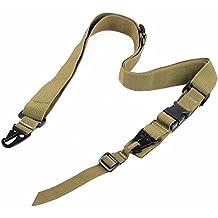 Ultimate Arms Gear Two-Point Adjustable Shoulder Strap Sling, TAN Ruger 1022 10/22 10-22 Mini-14 SR556 SR22 Rifle