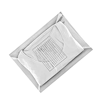 Poly Flat Bags 12x16 Clear packing bags 12 x 16 by Amiff. Pack of 20