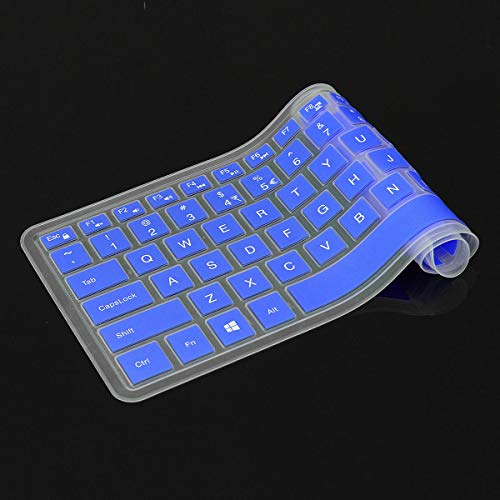 Keyboard Cover Protector For XPS 15 15-9550 / inspiron 14CR 14MR 14SR - Laptops & Accessories Laptop Replacement Parts - (Blue) - 1 x K812 Mini Portable Wireless Bluetooth V2.1 Stereo