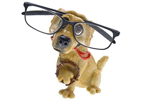 Dog Breed Novelty Eyeglass Holder Stand | Perfect for Your Bedside or Desk | Golden Retriever, 1 ()