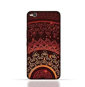 HTC X9 TPU Silicone Case With Colorful Henna Mandala Design