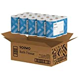 Amazon Brand - Solimo 2-Ply Toilet Paper, 6 Count