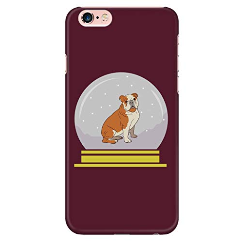 Snow Globe Bulldog Phone Case for iPhone, Funny Gifts for Dog Lovers, iPhone 6 Plus/6s Plus