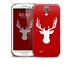 red stag Samsung Galaxy S4 GS4 protective phone case