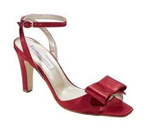 CHILLANY Sandalette - Sandalias de Vestir Mujer Rojo - Rouge - Rouge