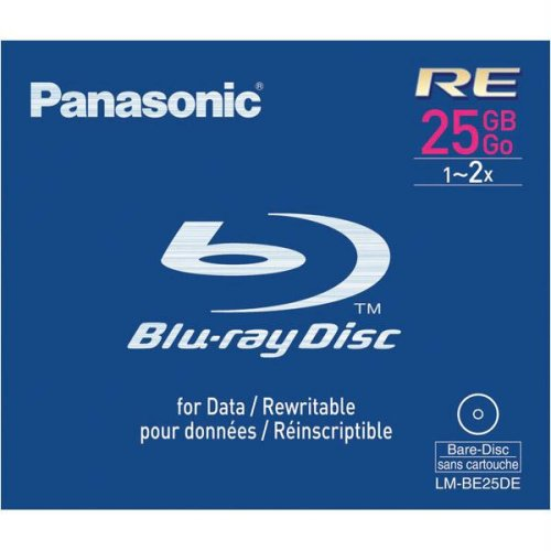 Panasonic 2x BD-RE Media