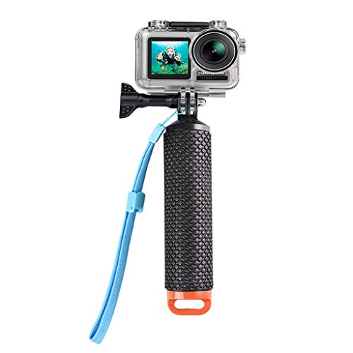 Diving Waterproof CASE Shell | Diving Toys Floating Hand Grip for DJI OSMO Action (Orange)