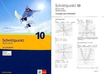 Schnittpunkt Mathematik - Ausgabe für Niedersachsen / Arbeitsheft plus Lösungsheft 10. Schuljahr - Mittleres Niveau