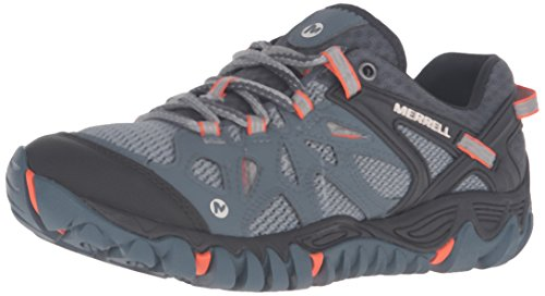 Merrell Women's All Out Blaze AERO Sport Hiking Shoe, Dark Slate, 7 M US