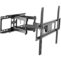 Husky Mount Full Motion TV Wall Mount Bracket Fits Most 32-70 LED LCD Flat Screen Up to 88 lbs