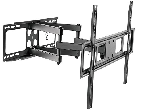 (Husky Mount Full Motion TV Wall Mount Bracket Fits Most 32