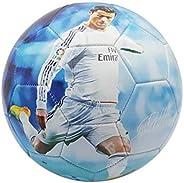 Forever Fanatics Ronaldo #7 Soccer Ball Kids & Adult Size 5 ✓ Best Gift for Fans ✓ Unique 6 Panel Design ✓