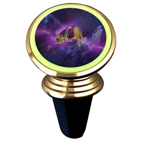 Magnetic Phone Holder Purple Galaxy Cat 360 Degree Rotation Universal Car Mount Cell Phone Stand for Phone X/6/6s/7/8/8 Plus/7, Galaxy S9/S9 ()