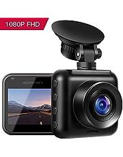 """apeman Dashcam Auto Kamera WiFi Full HD 1080P Autokamera mit APP 2.45"""" IPS Bildschirm 170° Weitwinkel,WDR,G Sensor,Nachtsicht,Loop-Aufnahme,Bewegungserkennung,Parkmonitor"""