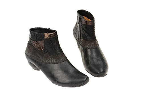 Cold Black Aida Think Boots Women's Short Length Lined Stiefelette Classic xHtwTgtzq