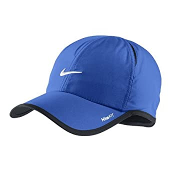 e12e6461 Nike Men's Feather Light Dri-Fit Running Cap One Size (Adults) Treasure Blue