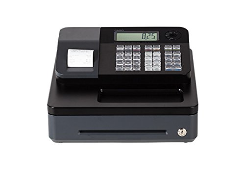 Casio PCR-T273 Electronic Cash Register - works on 120 V - 50 60Hz supply & needs memory backup batteries