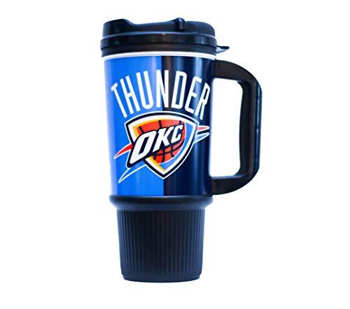 OKC Thunder 24oz Gripper Mug with Lid and