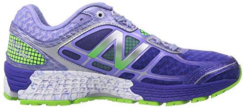 New Balance 860v5 - Zapatillas de running para mujer Spectrum Blue with Acidic Green & Blue Bell