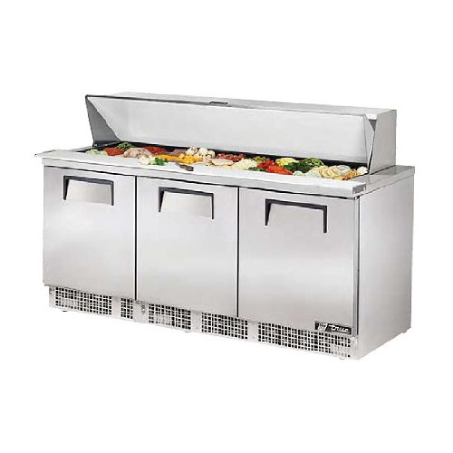 True TFP-72-30M Mega Top Refrigerated Sandwich Prep Unit, 72