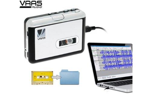 b9fe1d1cc10 Vaas Portable USB Cassette Tape to Digital MP3 Audio Sound Converter Player