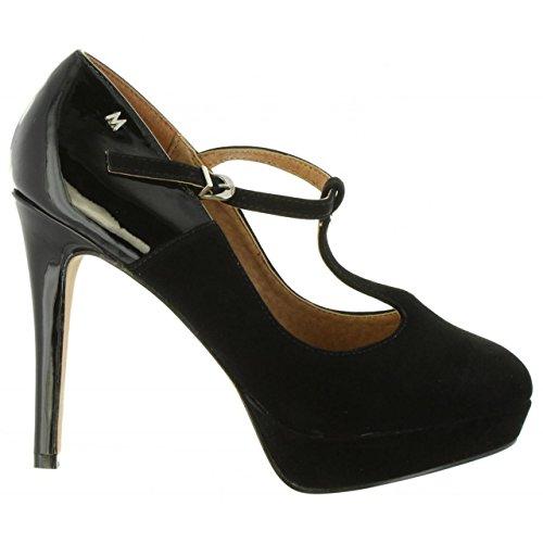 Schuhe ferse für Damen MARIA MARE 61255 C6473 PEACH NEGRO