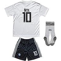 New 2018 Germany #10 Ozil #13 Muller Home Away Football...