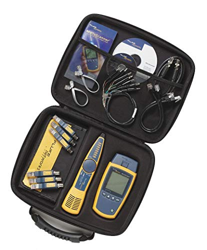 Lcd Network Adapter - FLUKE Networks Cable Tester Kit Display: LCD Adapter Type: RJ-45 and BNC