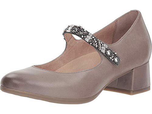 - Dansko Women's Pearlina Mary Jane Stone Burnished Nubuck Size 39 Regular EU