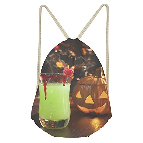 Sports Drawstring BackpackPicture of Halloween drinks vampires kiss cocktail