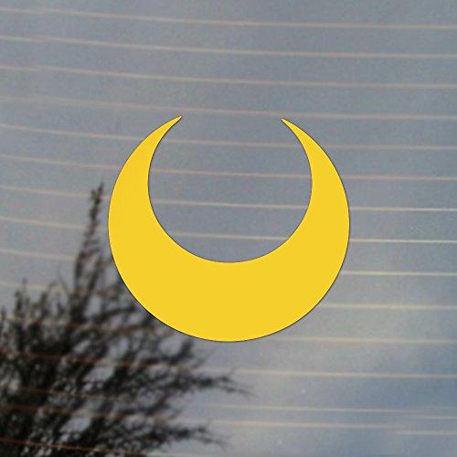 crescent-moon-magical-girl-anime-vinyl-decal-sunflower-yellow