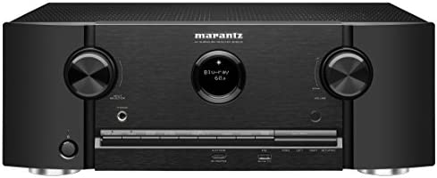 Marantz SR5012 7.2 Channel Full 4K Ultra HD Network AV Surround Receiver with HEOS Black