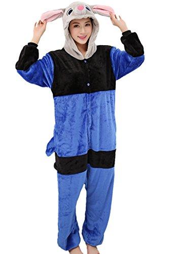 Merry21 Women's Unisex Cartoon Kigurumi Pajamas Cosplay Costume Sleepwear S-XL