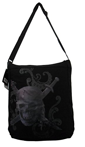Pirates of the Caribbean Bag-Canvas Tote Handbag Purse