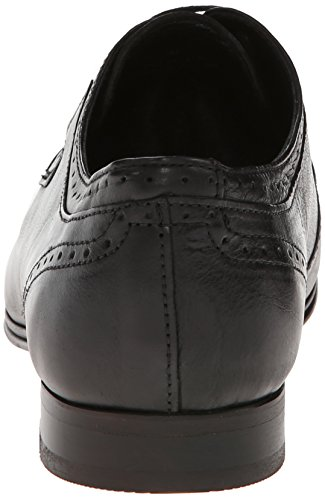 H By Hudson Mens Sheldon Oxford Dress Shoe Black Buffalo ksRKL8aCm