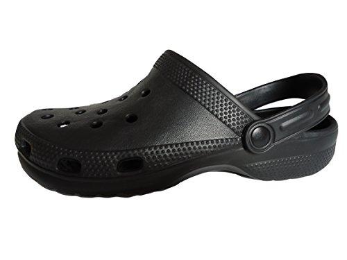 Hausschuhe Schwarz Flip Strand Schuhe Flops Clogs Cloggis Gummi Wasser aus Sandalen UqWwf7STn