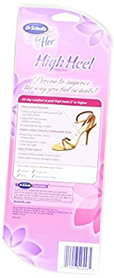 Dr. Scholl's for Her High Heel Insoles (Women's Sizes 6-10) 1-Pair Packages