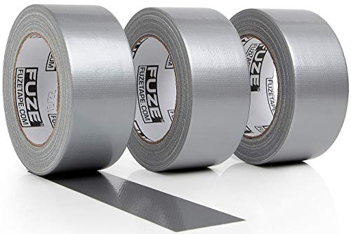 New: Heavy Duty Silver Duct Tape - 3 Roll Multi Pack Industrial Lot – 30 Yards x 2 inch Wide – Large Bulk Value Pack of Grey Original Extra Strength, No Residue, All Weather, Tear by Hand