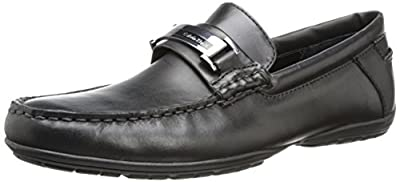 Calvin Klein Men's Wallace Leather Slip-On Loafer