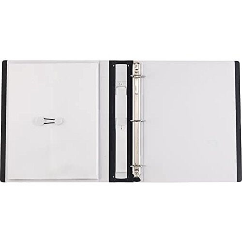 1'' Staples Better View Binder with D-Rings, White