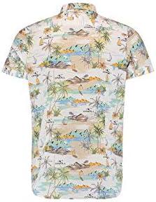 ONEILL LM Angora S/Slv Shirt Camisa Manga Corta, Hombre, Blanco (Super White), XXL: Amazon.es: Deportes y aire libre