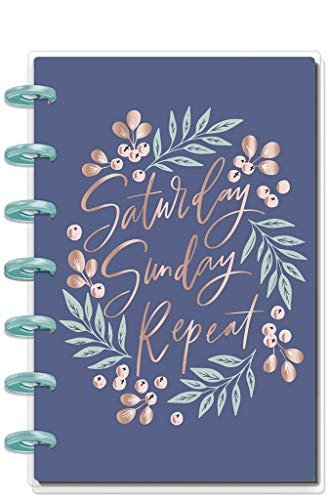 Create 365 ; The Mini Happy Planner ; Saturday Sunday Repeat ; 12 Months (2019-2020) ; Horizontal Layout ; Size: 7.5