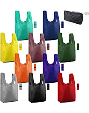 Reusable Grocery Bags Shopping Tote Bags Foldable Washable